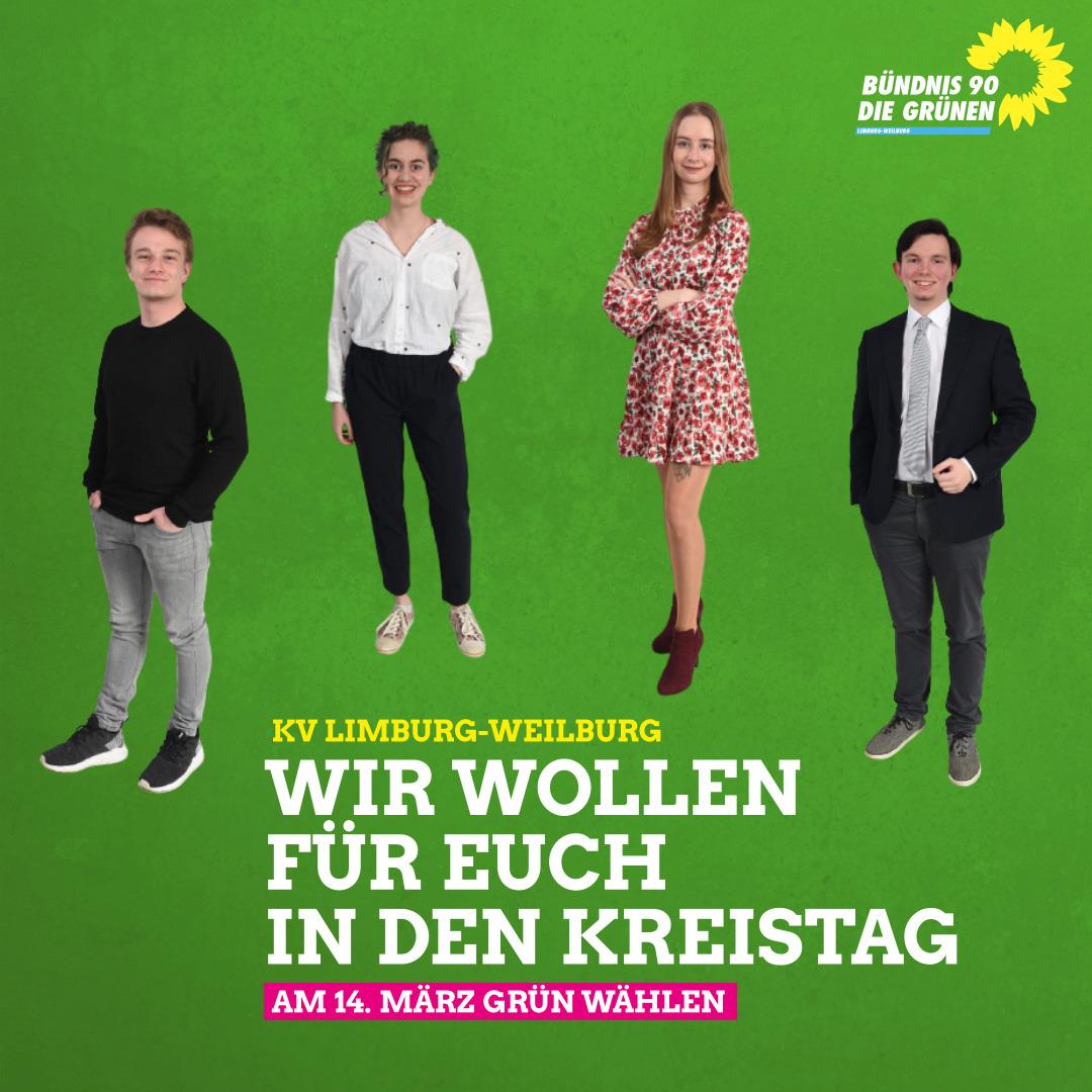 Junggrüne Kandidat*innen für den Kreistag